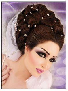 ARABIC MAKEUP and HAIRSTYLES #arabicmakeup