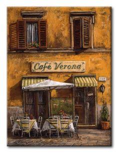 12242 / Cuadro Cafe Verona