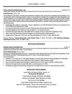 Sample Resume Senior Lever Operating Manager - http://resumesdesign.com/sample-resume-senior-lever-operating-manager/
