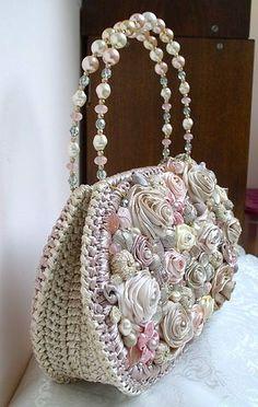 Letras e Artes da Lalá: Bolsas de crochê e tricô (www.pinterest.com - sem…