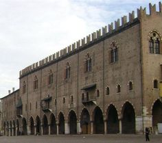 "The Palazzo Ducale di Mantova (""Ducal Palace"") is a group of buildings in Mantua, Lombardy, northern Italy, built between the 14th and the 17th century mainly by the noble family of Gonzaga as their royal residence in the capital of their Duchy."