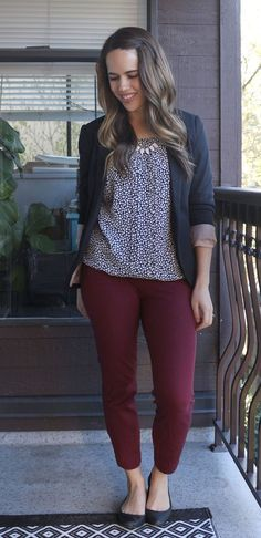 Jules in Flats April 2016 Outfits (heart print blouse)