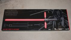Star Wars The Black Series Kylo Ren Force FX Deluxe Lightsaber BRAND NEW #StarWars