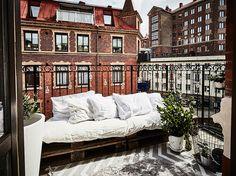 Ruim wonen op 50m2 met zonnig balkon ❥