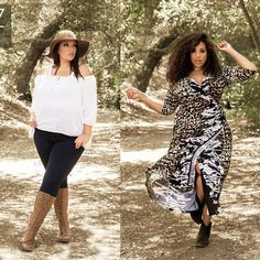 Two looks straight out of our Fall Lookbook. Which look will you be adding to your wish list? We love them both!
