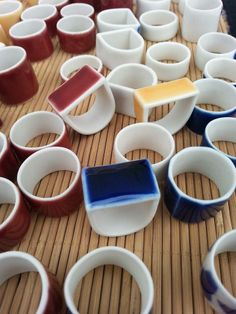porcelain rings