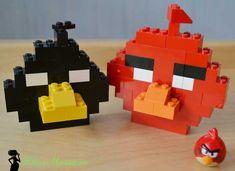 Bomb и Red из LEGO