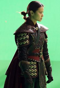 "Don't expect to see Mulan in a pretty getup when we first meet Disney's warrior princess in Once Upon a Time's September 30 premiere. She'll be armored up and battle-ready.    ""I go on a journey with Prince Phillip to find his princess, Aurora,"" teases Mulan's portrayer, Jamie Chung (Sucker Punch). ""There's this evil spirit that's moving and my character ends up bonding with Sleeping Beauty. And as you've heard, Captain Hook is joining us."""