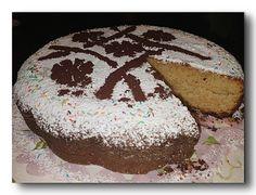 torta farina di farro e cioccolato bianco, con olio e yogurt, soffice e gustosa, nata dalla fusione di due ricette, fortunato errore di distrazione :D che