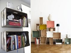 diybookshelves7 by apairandaspare, via Flickr
