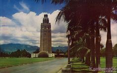 The 1938 Hickam water tower on Manzelman Circle next to the Pearl Harbor channel with the Waianae Range in the distance. Honolulu Hawaii, Oahu, Around The World In 80 Days, Around The Worlds, Tower Of Power, Hawaii Life, Water Tower, Military Life, Pearl Harbor