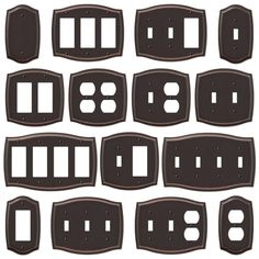 decorative wall plates for electrical outlets - Decorative Outlet Covers