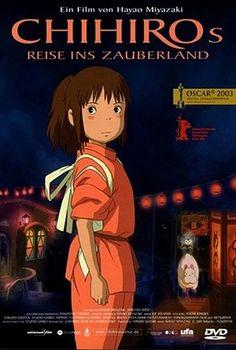 A Viagem de Chihiro - Poster / Capa / Cartaz - Oficial 28