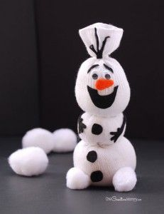 Kids would love to do this as a Christmas or Winter craft!!!