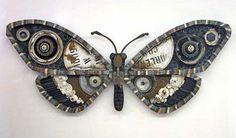 Michelle Stitzlein found object sculpture