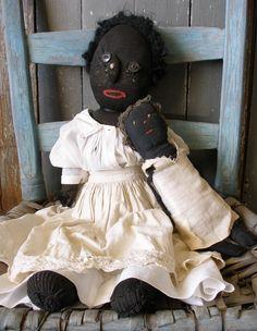 Wonderful black rag dolls.
