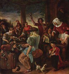 Jan Steen - Het gezin van Jan Steen