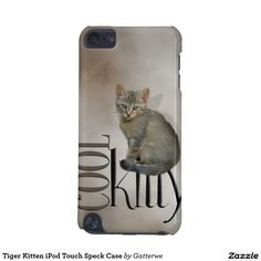Tiger Kitten iPod Touch Speck Case