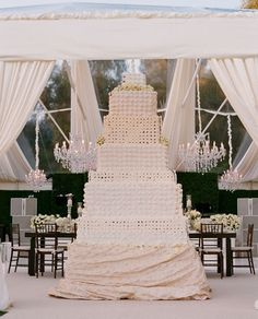 Massive Luxury Wedding Cake!!!