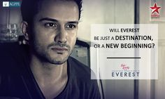 Taking the N.I.M training seriously is Arjun's EVEREST.