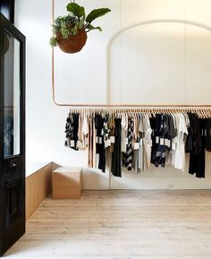 clothing rack ideas from the chicest shops! on domino.com