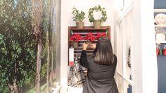 Varanda-Natal. Por Às 9 no meu blogue.   #Natal #decoração #bloggers #ikeaportugal