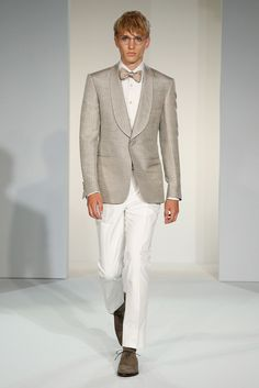 Gieves & Hawkes Spring 2015 Menswear - Collection - Gallery - Look 30 - Style.com