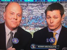 NFL Sunday on CBS with Tom McCarthy and Adam Archuleta from Charlotte, NC