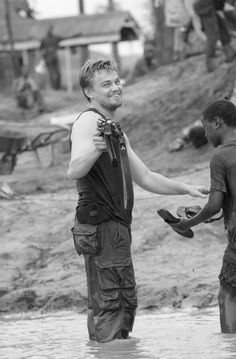 Leonardo DiCaprio on the filming of Blood Diamond (2006) by Edward Zwick.