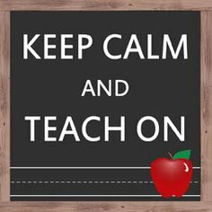 this on one of Uppercase Living's chalk walls would be perfect for a teacher!