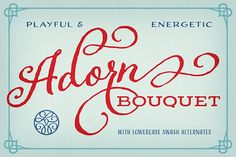 Adorn Bouquet by Laura Worthington on @creativemarket