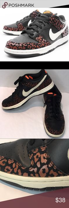 3e254b29c8d4 Woman's Nike Low Dunk Skinny Leopard Size 8 Shoes are in great condition,  no box
