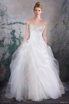 jenny lee bridal fall 2013 wedding dress
