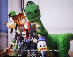 This is my new favorite screenshot in ALL of KH!!!