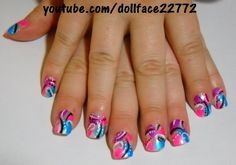 Funky Abstract - Nail Art Gallery by NAILS Magazine
