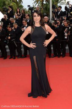 Nadine Labaki #dessange #cannes2015 #coiffeurofficiel Cannes Film Festival 2015, Cannes 2015, Star Francaise, Palais Des Festivals, Red Carpet, Formal Dresses, Fashion, Cannes Film Festival, Hairstyle