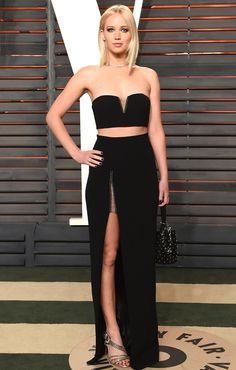 Oscars 2016: All the Dresses You Didn't See | People - Jennifer Lawrence in Alexander Wang