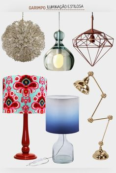Iluminando com estilo. Veja: http://www.casadevalentina.com.br/blog/detalhes/iluminando-com-estilo-3107 #decor #decoracao #interior #design #casa #home #house #idea #ideia #detalhes #details #style #estilo #casadevalentina #produtos #products #online