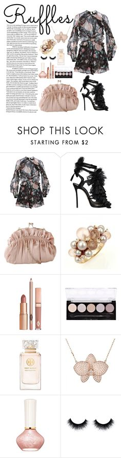 """Ruffles for Summer"" by truefacet ❤ liked on Polyvore featuring Zimmermann, Dsquared2, J. Furmani, Mimí, Dolce Vita, Tory Burch and Paul & Joe Beaute"