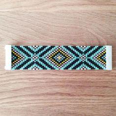 Jewelry Zilli, Bracelet tissé en perles de Rocaille, fermoir aimanté 08 : Bracelet par boutique-zilli