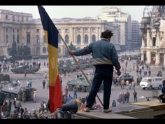 Aired December Radio Bucharest (today Radio Romania International) shortwave news update detailing the revolution that overthrew the socialist gove. Romanian Revolution, Russian Revolution, Victor Hugo, Bbc News, Revolution Poster, Fotojournalismus, World Conflicts, Warsaw Pact, Short Waves