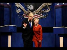 Alec Baldwin Helps SNL Re-Create Trump-Hillary