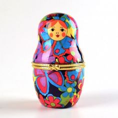 Colorful Nesting Doll Box