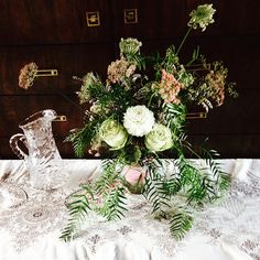 Tom & Lucy Wedding Flower Arranging | by 2littlewings
