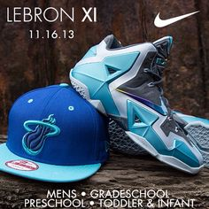 "Lebron XI ""Gamma Blue"""