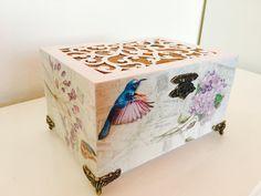 Decoupage #box #myart #vintage