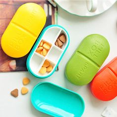 US $1.99 New in Health & Beauty, Health Care, Pill Boxes, Pill Cases