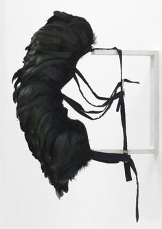 """Rebecca Horn is a major representative of the contemporary German art world. Horn has been known for her performance works with feathers, horns, and mirrors. Soft Sculpture, Conceptual Art, Art Plastique, Art World, Installation Art, Contemporary Art, Modern Art, Body Art, Feathers"