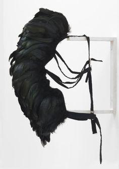 Rebecca Horn 'Cockfeather Mask', 1973 © DACS, 2016