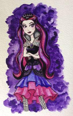 Raven Queen by ChewieOrgana.deviantart.com on @DeviantArt